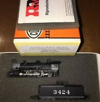 Con-Cor N Scale Rivarossi HEAVY PACIFIC 4-6-2 steam locow/tender SANTE FE #000
