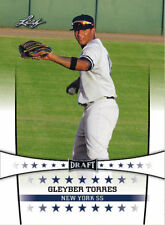 GLEYBER TORRES 2017 LEAF DRAFT ROOKIE CARD #1TP! NEW YORK YANKEES PHENOM!