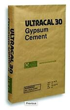 25 Lb ULTRACAL 30 Gypsum Cement - Plaster - for Mold Making and Casting