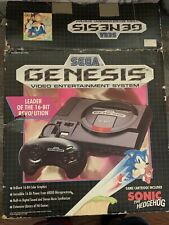 Vintage Sega Genesis Game Console Complete With 15 Games Works Tested 16 Bit