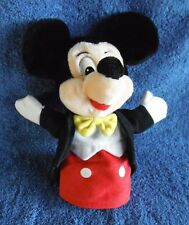 *1817c*  Walt Disney World - Mickey Mouse hand Puppet - Disneyland - plush 23cm