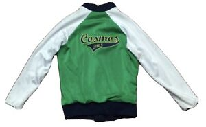 Authentic Game Worn New York Cosmos Girls Jacket!!! Size Small