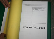 Daewoo Nexia Manual de taller alemán+Carrocería BodyRepair inglés en el Carpeta