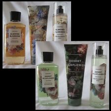 Bath & Body Works SHOWER GEL, BODY CREAM, FRAGRANCE MIST Set of 3 YOU Pick Scent
