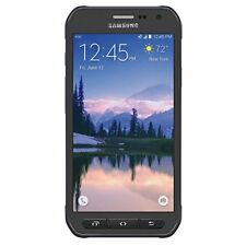 Outdoor, Samsung Galaxy S6 G890A Active Black, 32GB mit WL-Charger, Neu