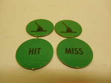 DOGFIGHT GAME PIECES GREEN ANTI-AIR TOKENS  (American Heritage) MB