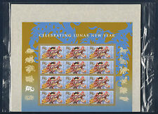 SEALED! Year of the Dragon Forever® Stamps - Chinese Lunar New Year Mint Sheet