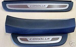 Toyota Corolla 2009 - 2013 Light Gray Door Sill - OEM NEW