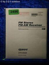Sony Bedienungsanleitung STR DE685 FM/AM Receiver (#2496)