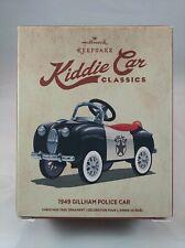 "New ListingHallmark Keepsake Ornament Kiddie Car Classics ""1949 Gillham Police Car"" New"