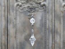 """Kristallhänger """"Anhang"""" Höhe 18 cm (Chic Antique, Weihnachtsdeko, XMAS))"""
