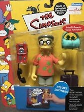 THE SIMPSONS World of Springfield WOS Resort Smithers SERIES 10 Action Figure
