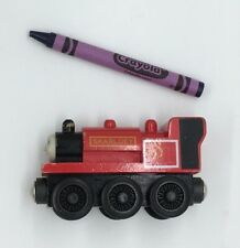 Thomas Wooden Railway Skarloey 1996 Britt Allcroft Vintage Train Set Red Engine