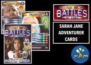 Dr Doctor Who Battles in Time Cards - SARAH JANE ADVENTURER Singles