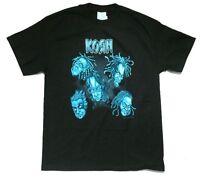 Korn Jarhead Cartoon Voodoo Doll Heads Black T Shirt New Official