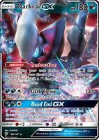 Darkrai GX 88/147 SM Burning Shadows Ultra Rare Holo Pokemon Card NEAR MINT TCG