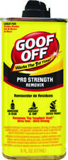 Goof Off Pro Strength Adhesive & Glue Remover 6 Ounces Removes Toughest Stuff