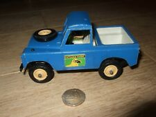 BRITAINS SWB LAND ROVER WITH DRIVER 1/32 SCALE VINTAGE DIECAST FARM BLUE 1975
