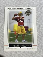 2005 Topps Aaron Rodgers RC Rookie #431 Centered MVP Super Bowl