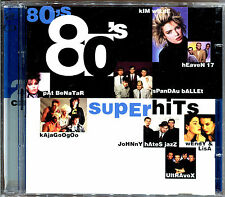 80'S SUPER HITS - 2 CD COMPILATION 80'S [633]