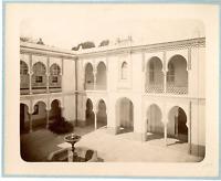 Geiser. Algérie, Palais du Gouverneur  Vintage albumen print.  Tirage albuminé
