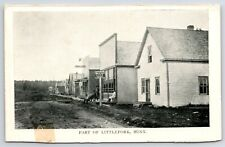 Littlefork MN Lind Bus & Dray Wagon Lines~Our Golden Rule Store+! -Has PO c1910