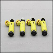 Set (4) 195500-4450 Fuel Injectors Nozzle for 2004-2008 Mazda RX-8 1.3L R2