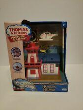 Thomas & Friends Wooden Railway Engine Harold's Helipad Brand New