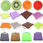 Seat Pads Dining Room Patio Garden Home Office Fruit Chair Cushions Tie On New