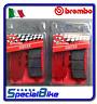 KTM SUPERDUKE R 1290 2014 > PLAQUETTES DE FREIN BREMBO SA AVANT 2 PAIRES