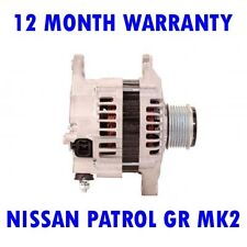 NISSAN PATROL GR MK2 MK II 2000 2001 2002 2003 2004 - 2015 RMFD ALTERNATOR