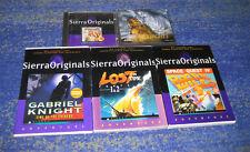 Sierra Adventure raccolta Space Quest, Gabriel Knight, Lost 1 + 2 e così via.
