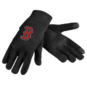 Boston Red Sox Neoprene Gloves Sports Logo Winter NEW Texting Tips - High End