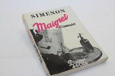 SIMENON MAIGRET S'AMUSE 1957 ÉDITION ORIGINALE 1/100 EX. NUMÉROTÉS SUR ALFA