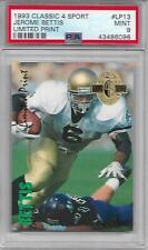 HOF Jerome Bettis 1993 Classic 4-Sport RARE TYPE LIMITED PRINT ROOKIE PSA 9! NFL