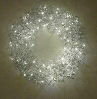 Wandkranz Türkranz Aluminium Tischkranz Mit Led Licht Weihnachten Schaufenster