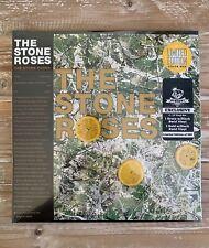 The Stone Roses Newbury Comics GREEN & GOLD Black Swirl vinyl 2 LP record, ONLY