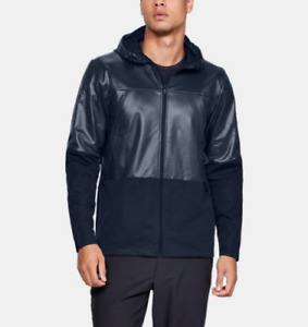 Under Armour UA Storm Hybrid Fitted Hoodie Rain Jacket Men's Size Large Swacket