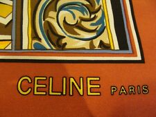 CELINE Paris, silk scarf MADE IN FRANCE, Nouveau Fabuleux