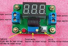 2X DC-DC Blue High Efficiency Variable Power Supply With Voltage Display 2A Out