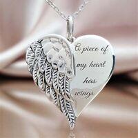 Ein Stückmeines Herzens hat Flügel Elegante Halskette Frauen Schmuck Geschenke