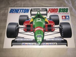 Open Box, Bags Sealed, Tamiya Benetton Ford B188 1/20 FREE SHIPPING