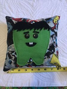 Pocket Tooth Fairy Pillow The Incredible Hulk Marvel