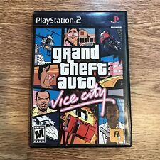 Grand Theft Auto Vice City PlayStation 2 PS2 Game Disk + Case - Tested