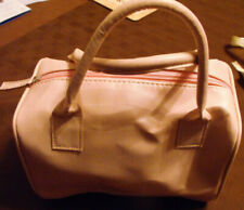 2 x Hand bags - Pink one & Silver See thro Makeup bag - Free UK P&P