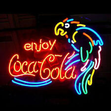 "New Enjoy Coca Cola Parrot Coke Soft Drink Neon Sign 19""x15"""