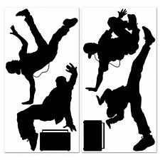 Fresh 80s BREAK DANCER WALL PROPS (6 COUNT) Large Party Decorations PHOTO BOOTH