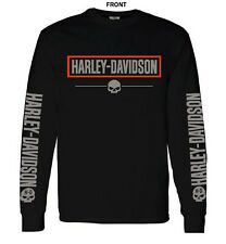 HARLEY DAVIDSON LOGO GRAPHIC - LONG SLEEVE T-SHIRT