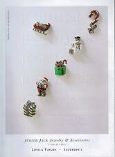 1997 Judith Jack  JEWELRY Accessories , pins   Magazine  PRINT AD