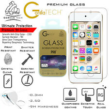 TWIN iPod 6/5 Autentico Gorilla TECH Brand Screen Protector in vetro temperato Top Nuovo